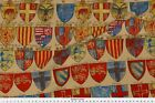 Royal Knights Heraldry Medieval Castle Antique Fabric Printed By Spoonflower Bty