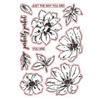 Flowers Holiday Stamps Transparent Clear Silicone Stampseal Scrapbooking Album