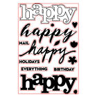 Letters Decor Clear Diy Crafts Transparent Stamps Scrapbooking Silicone Rubber