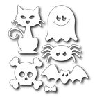 Halloween Supplies Metal Cutting Dies Stencil Scrapbooking Album Gift Card Craft