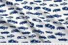 Vintage Cars Classic Cars Auto Car Hot Rod Fabric Printed By Spoonflower Bty