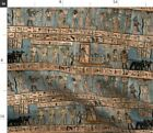 Ancient Ancient Egyptians History Upholstery Fabric Printed By Spoonflower Bty