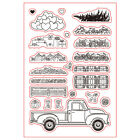Christmas Silicone Stamp Seal Paper Card Stencil Diy Scrapbooking Photo Craft