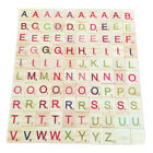100x Colourful Wooden Scrabble Tiles Mix Letters Varnished Alphabet Numbers Toy