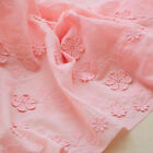 1 Yard Flower Embroidered Cotton Lace Fabric Diy Wedding Dress 51 Width