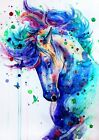 Diy Paint By Number Acrylic Oil Painting On Linen Colorful Animals Kids Art Gift