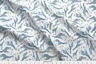 Monochrome Navy Blue Giraffe Drawing Fabric Printed By Spoonflower Bty