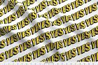 Typography Text Yes Fabric Printed By Spoonflower Bty