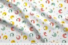 Coffee Pot Kettle Kitchen Tea Time Black Spots Fabric Printed By Spoonflower Bty