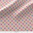 Owl Owls Ditsy Hearts Fabric Printed By Spoonflower Bty