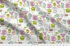 Kitchen Home Textile Tea Pot Cooking Fabric Printed By Spoonflower Bty