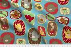 Tea Time Tea Cup Tea Pot Snack Fabric Printed By Spoonflower Bty