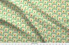 Owl Nature Animals Fabric Printed By Spoonflower Bty