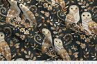 Barn Owl Owls Wood Texture Collage Nature Fabric Printed By Spoonflower Bty