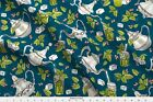 Moroccan Mint Tea Tea Pot Morocco Arabic Fabric Printed By Spoonflower Bty