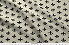 Fleur De Lis Upholstery Traditional French Fabric Printed By Spoonflower Bty
