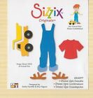 Sizzix Originals Large Red Dies  Never Used Dress Up Kids