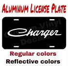 Aluminum License Plate Dodge Charger Many Colorsreflective Colors
