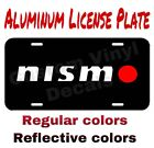 Aluminum License Plate Nismo Many Colorsreflective Colors