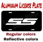 Aluminum License Plate Ss Many Colorsreflective Colors