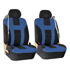 Premium Front Seat Covers For Car Truck Suv With Integrated Built-in Seat Belts