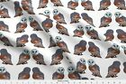 Barn Owls Birds Nature Fabric Printed By Spoonflower Bty