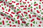 Cherry Cherries Pin Up Rockabilly Fruits Sexy Fabric Printed By Spoonflower Bty