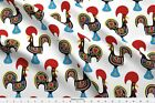Cute Animal Not Owl Creature Rooster Cock Fabric Printed By Spoonflower Bty