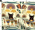 Cat Ancient Egyptian Cat Goddesses Egyptian Fabric Printed By Spoonflower Bty