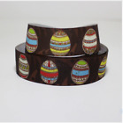 Easter Eggs Grossgrain Ribbon Eggshells Tape Craft Accessory Spring Party Supply