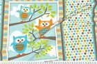 Owl What The Hoot Quilt Fabric Printed By Spoonflower Bty