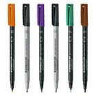 Staedtler-mars Limited 3149 Lumocolor Permanent Broad Black