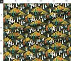 Pharaoh Egyptian Landscape Pyramid Egypt Olive Fabric Printed By Spoonflower Bty