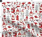 Gnomes Design Challenge Tomte Christmas Nisse Fabric Printed By Spoonflower Bty