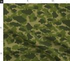 Parachute Camo Green Hunting Camo Camo Green Fabric Printed By Spoonflower Bty