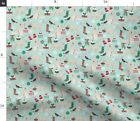 Golden Doodle Winter Golden Doodle Christmas Fabric Printed By Spoonflower Bty
