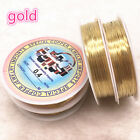Wholesale 0.3-0.4mm Brass Copper Colour Wires Beading Wire For Jewelry Making