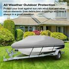111620ft Heavy Duty Trailerable Fish Ski Boat Cover 210dwaterproof Beam V-hull