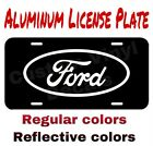 Aluminum License Plate Ford Logo Many Colorsreflective Colors