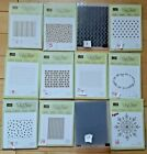Stampin Up Embossing Folders Sold Separately