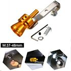 Car Turbo Sound Muffler Exhaust Pipe Blow Vale Simulator Whistle Size