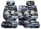 Urban Camo Blue Car Seat Covers Fits 95-00toyota Tacoma Front Bench 60-402hr