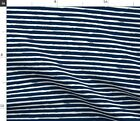White And Blue Stripes Painted Stripe Fabric Printed By Spoonflower Bty