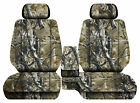 Car Seat Covers Camo Woods Fits Toyota Tacoma 2001-2004 Front Bench 60-402hr