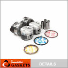 Pistons And Rings Fit Acura Integra Type R Vtec 1.8l B18c5