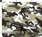 Green Camouflage Camping Natural Camo Urban Fabric Printed By Spoonflower B