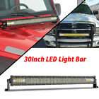 Led Light Bar 20 30 40 52 54inch Curvedstraight Spot Flood Offroad Driving
