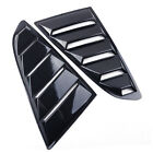 2pcs Side Window Blinds Quarter Louver Scoop Cover Fit For Ford Mustang 2015-17