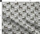 Arrow Stag Hunting Spoonflower Fabric By The Yard