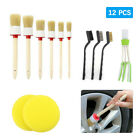 512x Car Interior Detailing Brush Boar Hair Wheel Air Conditione Cleaning Tools